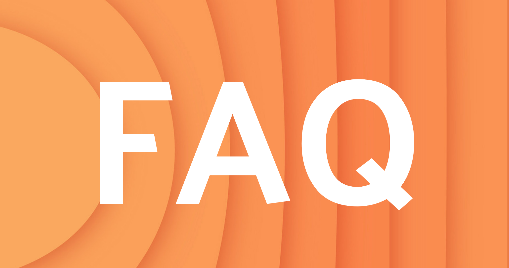 FREQUENTLY ASKED QUESTIONS PAGE