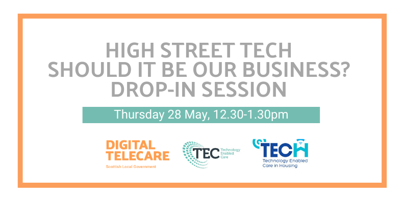 DROP IN SESSION: HIGH STREET TECH