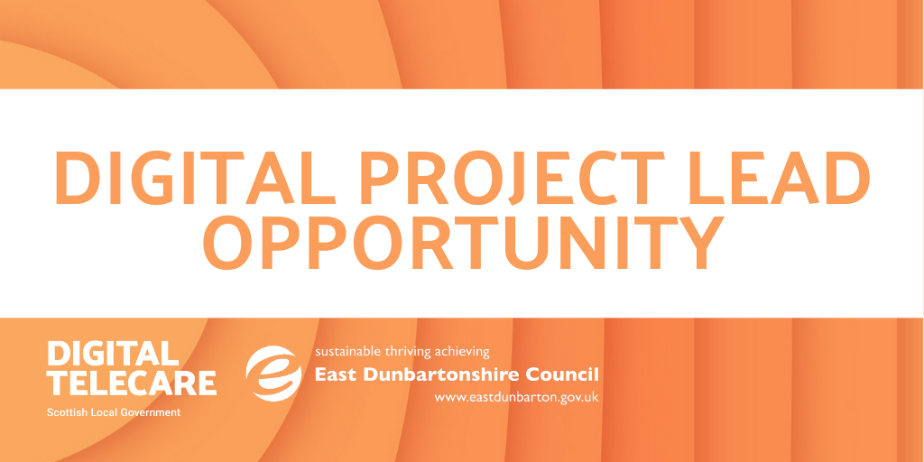 OPPORTUNITY: DIGITAL PROJECT LEAD