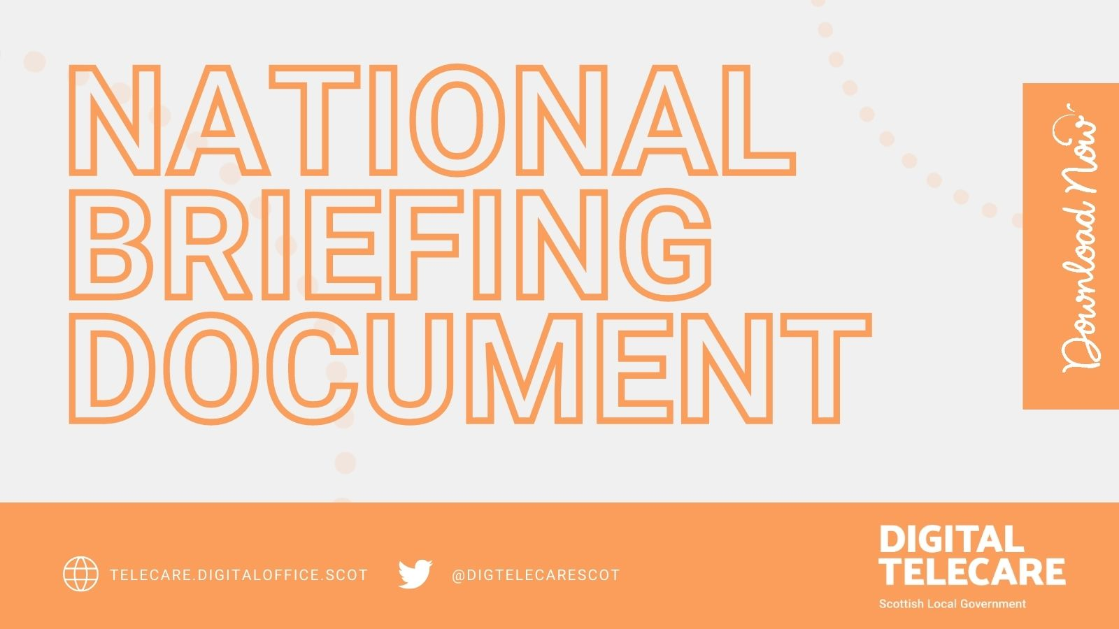 LAUNCH OF THE NATIONAL BRIEFING DOCUMENT
